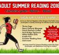 Adult Summer Reading 2016 - Sign up June 1st
