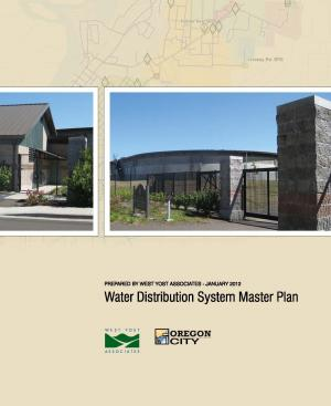 Oregon City Water Distribution System Master Plan - January 2012