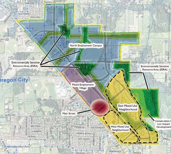 Beavercreek road concept plan city of oregon city for Concept design and planning