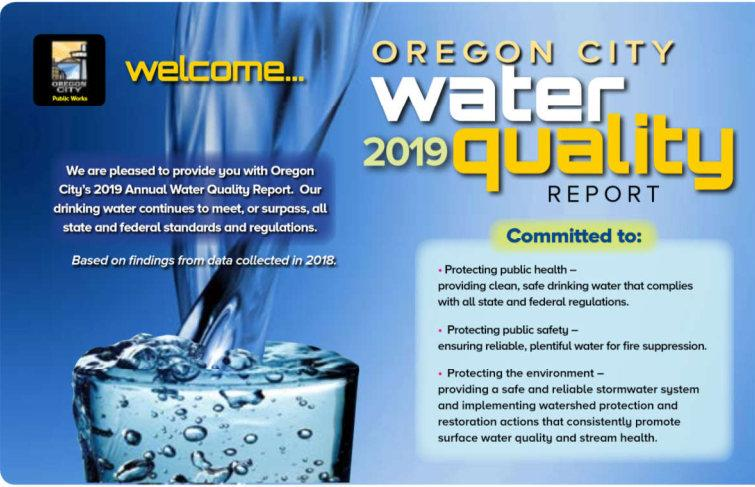 Water Quality Reports | City of Oregon City